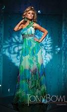 Tony Bowls 111721 Green Dress
