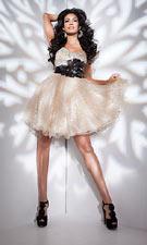 Tony Bowls 21114 Black/Gold Dress