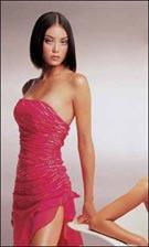Xcite 217 Fuchsia Dress