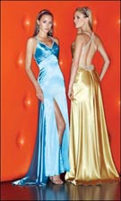 Xcite 3489 Blue or Gold Dress
