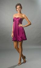 Xscape 7841 Plum Dress